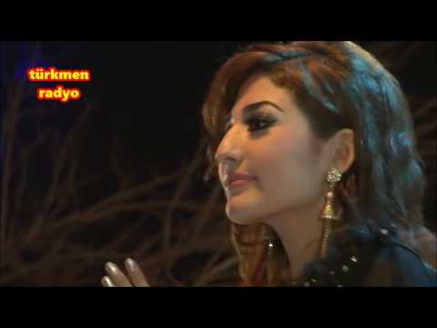 Türkmen Radio Den Latifa Azizi   Gel Gel لطیفه عزیز   گیل گیل