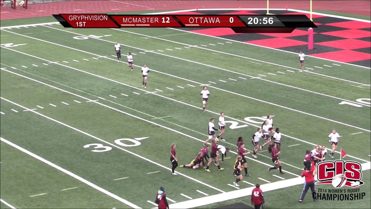 2014 CIS Women's Rugby Chamnpionship: McMaster vs Ottawa ...