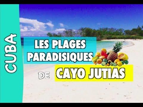 Cayo jutias des plages paradisiaque cuba youtube - Image de plage paradisiaque ...
