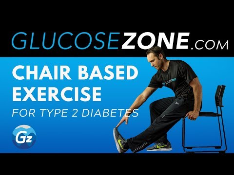 Best chair based exercise for Type 2 Diabetes: GLUCOSEZONE