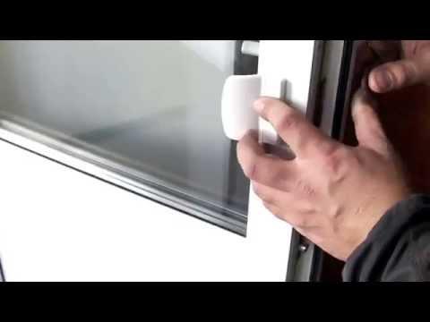 Особенности установки балконной ручки