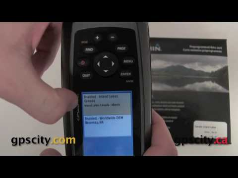 How to install Garmin Inland Lakes on a GPSMap 78 series GPS @ GPSCity