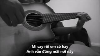 Ngôi sao bay (Đan Trường) - Guitar solo