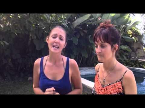 Becky Wicks and Sarah Alderson Procrastinate singing Frozen