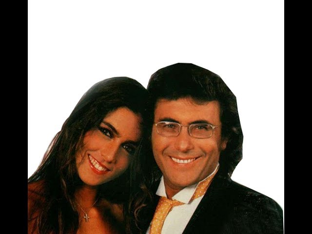 Al Bano Y Romina Power Andrea Con Letra Youtube