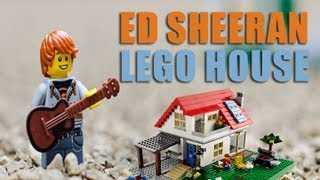"Ed Sheeran Lego Character sings ""Lego House"" - Stop Motion by 7 year old"