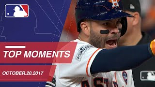 Springer's catch, plus nine moments from ALCS Game 6