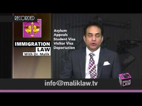 Immigration Law with Dr Malik 20th Jan 2017