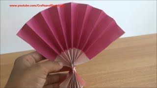 How to make a Chinese / Japanese fan easily .....
