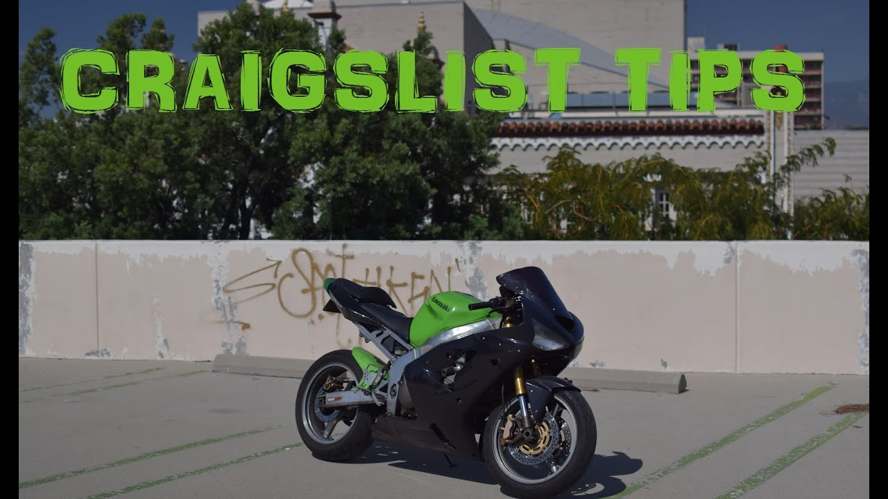 How to Buy a Motorcycle on Craigslist