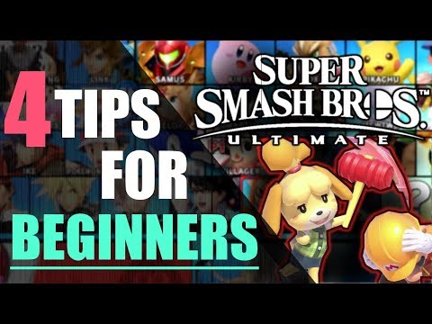 Super Smash Bros. Ultimate | 4 Tips For Beginners