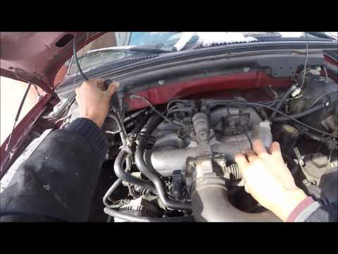 How to bleed air from a ford f150 cooling system, heater core