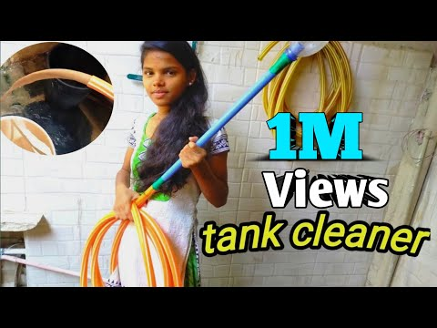How to make a tank cleaner at home/easy make tank cleaner