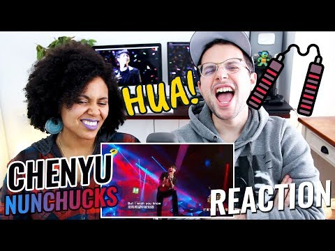 Hua Chenyu - Nunchucks | Episode 6 | Singer 2018 | REACTION