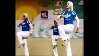 Kumpulan MAM Fitness Centre - Pertandingan Senam Seni 1 Malaysia