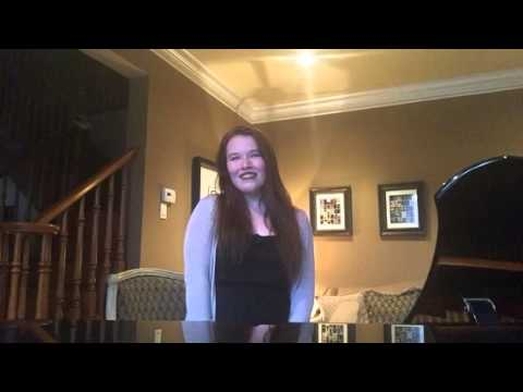 Samantha Bourque singing So Far From Pennsylvania by Carner and Gregor