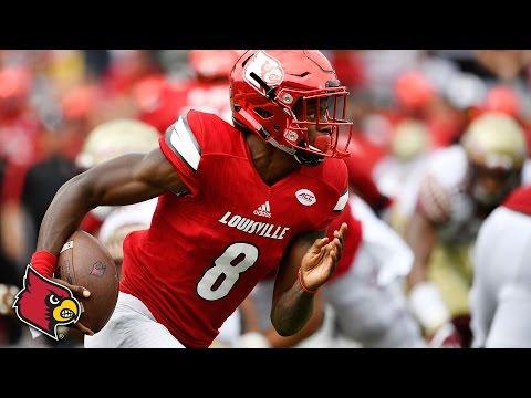 Lamar Jackson Best Plays vs. FSU: Cardinals QB Makes Heisman Statement