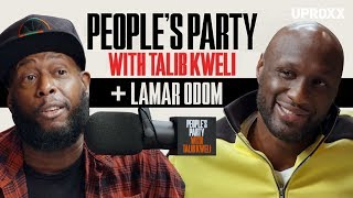Lamar Odom on People's Party with Talib Kweli (Full Interview)