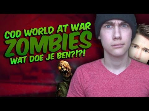 WAT DOE JE BEN!?!? - Call of Duty World at War Zombies (Battle Star Galactica)