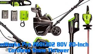 5 Top Rated Snow Blowers Review Under $300 | Single Stage   Best Electric Snow Blower