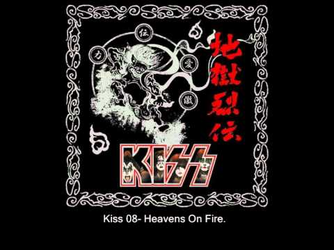 Kiss 08- Heavens On Fire Re-Record.