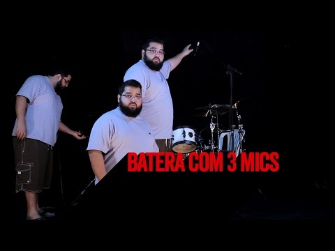 Como microfonar uma bateria com 3 microfones - Glyn Johns Technique (Feat. Robertinho Marçal)