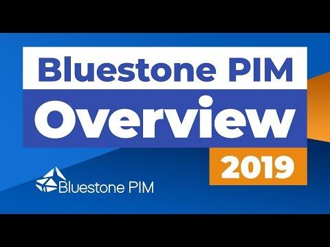 Bluestone PIM Overview 2019