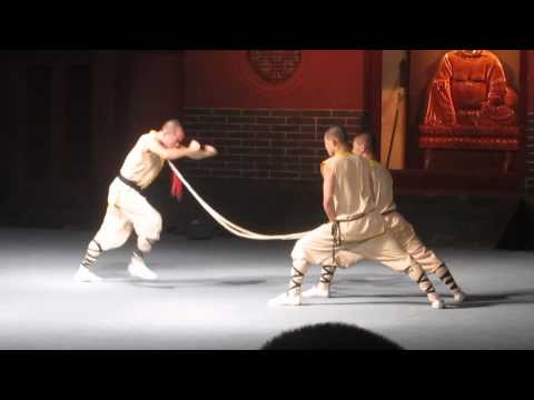 Kung Fu Show at the Shaolin Temple