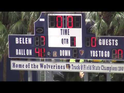 2016 International School of Broward vs Belen Jesuit Football