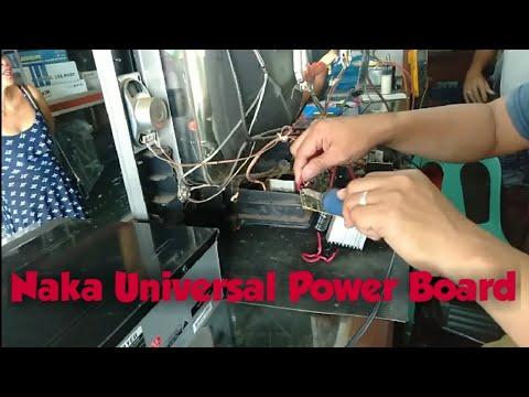 21 Inches Slim Flat CRT TV Sharp Hindi Nag Oscillate (Akalain Mo Naka Universal Power Board Pala To)