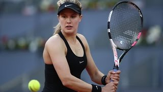 2017 Mutua Madrid Open First Round | Genie Bouchard vs Alize Cornet | WTA Highlights