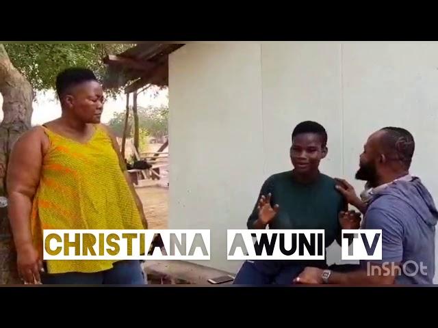 Christiana Awuni comedy with Pamela Odame