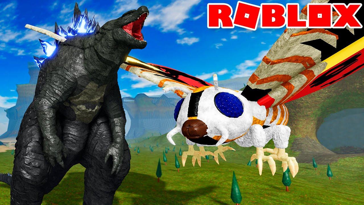 GODZILLA VS. MOTHRA! GUERRA DE TITÃS! | ROBLOX Kaiju Universe