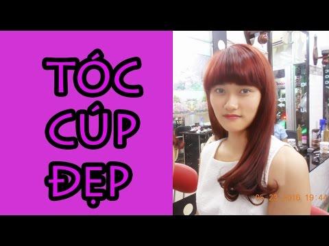 Salon làm tóc đẹp Gò Vấp, Sài gòn-Tóc Cúp Dài, Dễ Chăm Sóc tại nhà