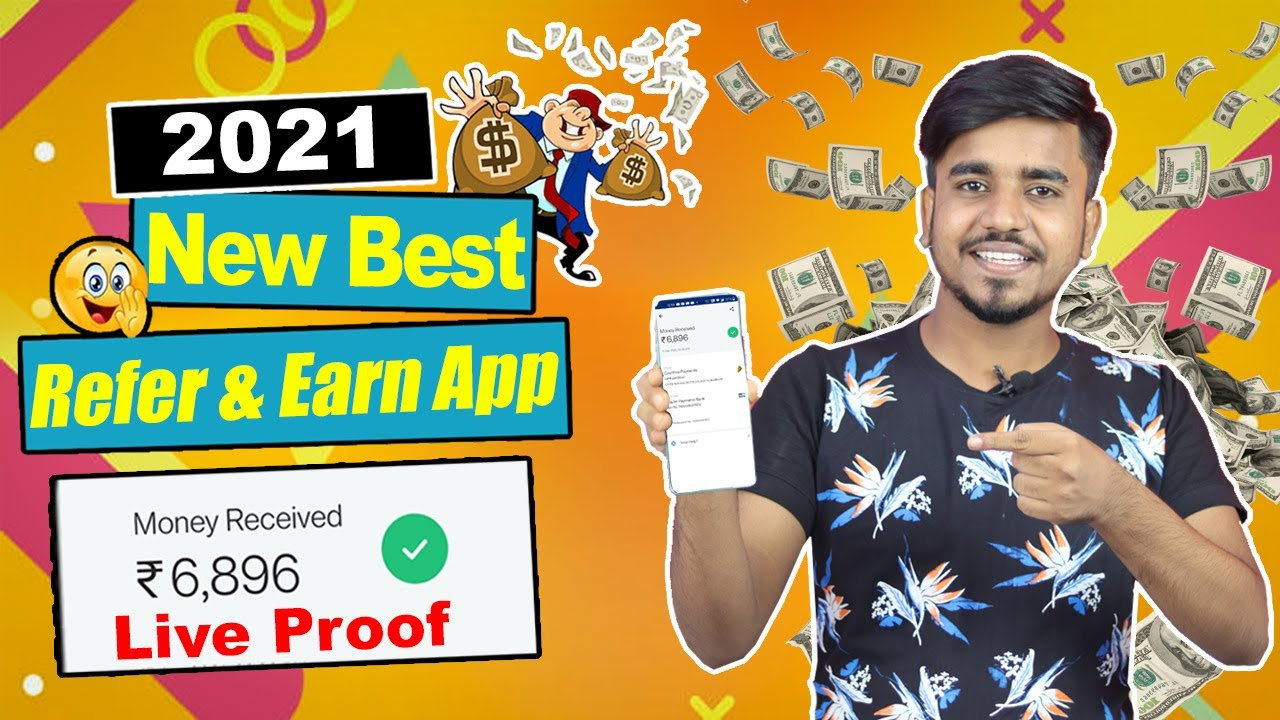 2021 BEST Refer & Earn Earning App || Earn Daily ₹1,200 PAYTM Cash Without Investment |Google Tricks