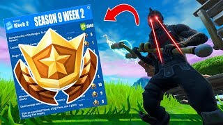 Fortnite Week 2 Season 9 Challenges Leaked - All Locations, Secrets & Guides!