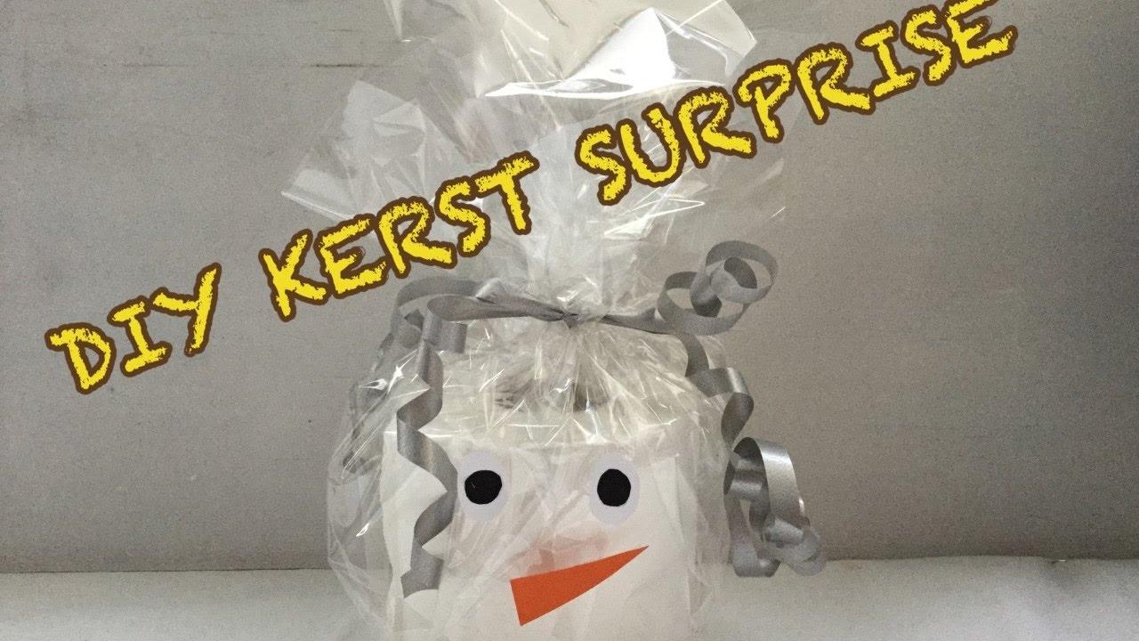 Diy Kerst Surprise Inpak Idee Knutselen Sneeuwpop Tutorial