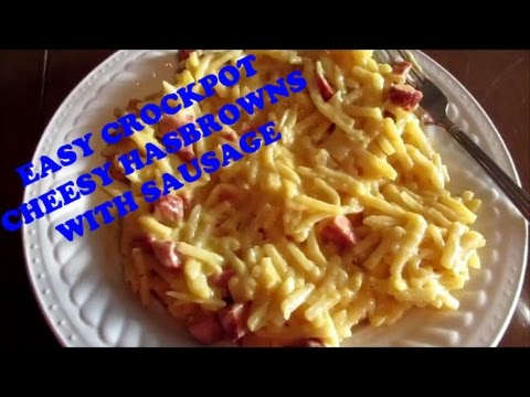 Easy Crockpot – Cheesy Hashbrown Sausage Casserole – Cook With Kevin #1