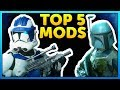 Top 5 Mods of the Week - Star Wars Battlefront 2 Mod Showcase #29