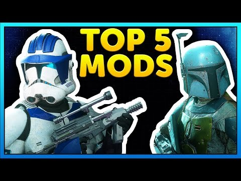 Top 5 Mods of the Week - Star Wars Battlefront 2 Mod Showcase #29