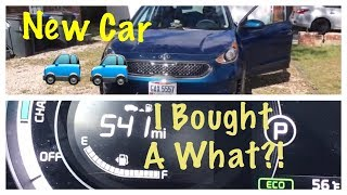 New Car!! I Bought a What???