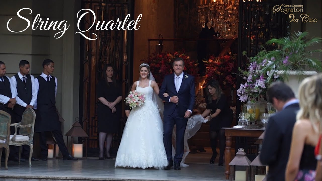 String Quartet Wedding.Wedding String Quartet Live Classical Pop Music For Marriage