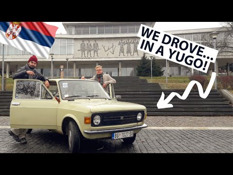 🇷🇸 We DROVE in a YUGO in SERBIA! BELGRADE'S YUGOTOUR - The Rise and Fall of Yugoslavia