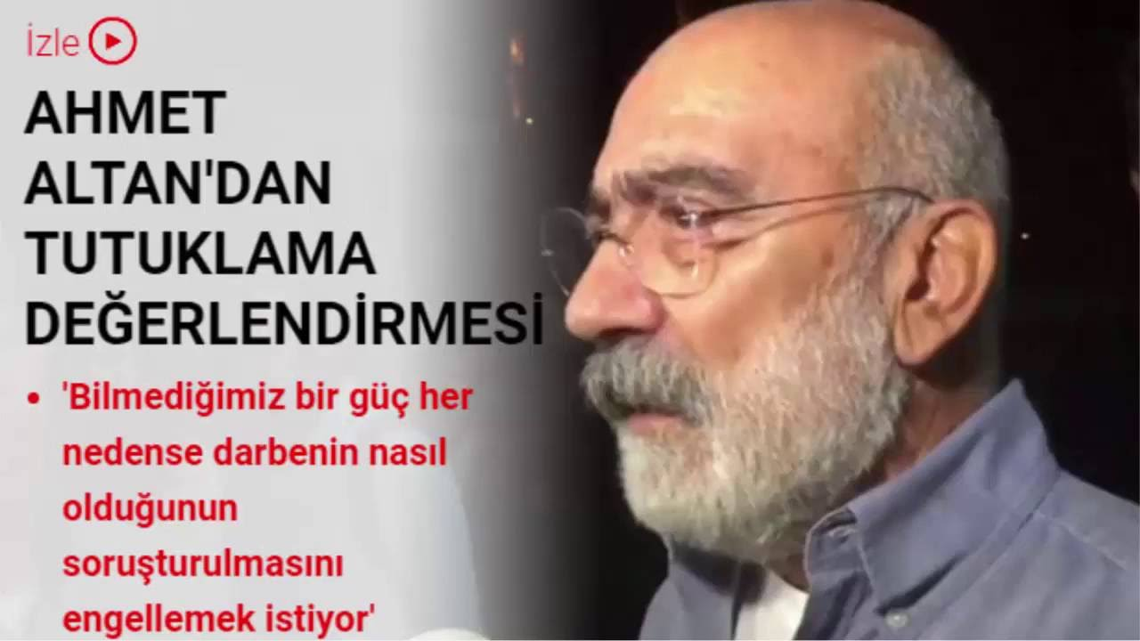 Ahmet Altandan tutuklama değerlendirmesi - YouTube