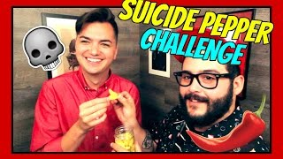 Suicide Letter Hot Pepper Challenge ft. Steve Zaragoza