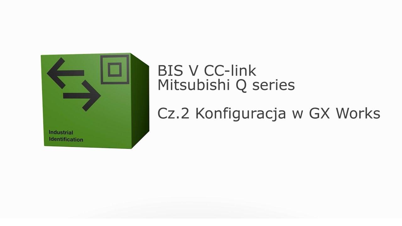 BISV CC-link Mitsubishi - Cz 2  Konfiguracja w GX-Works