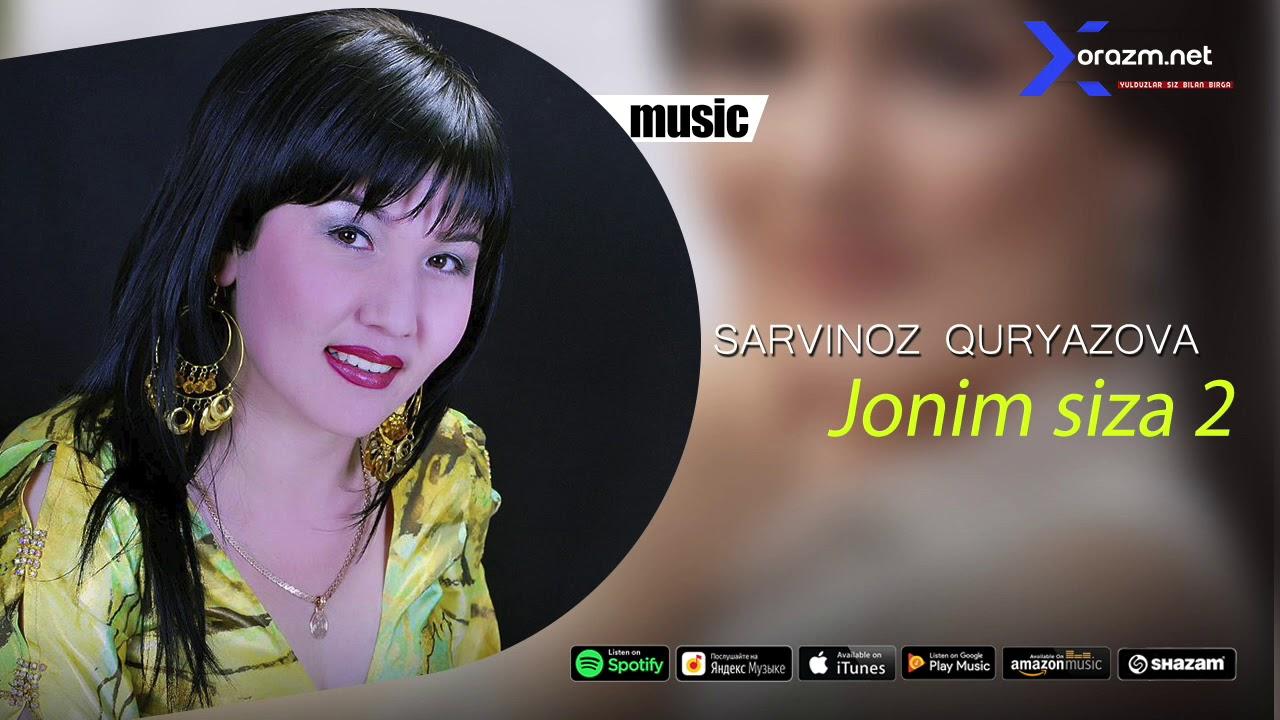 Sarvinoz Quryazova - Jonim siza 2 | Сарвиноз Курязова - Жоним сиза 2 (music version)