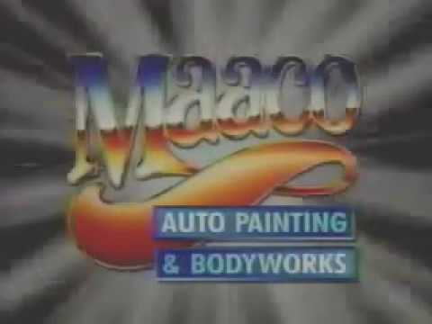 Maaco Auto Painting Bodyworks Ad From 1993 Youtube