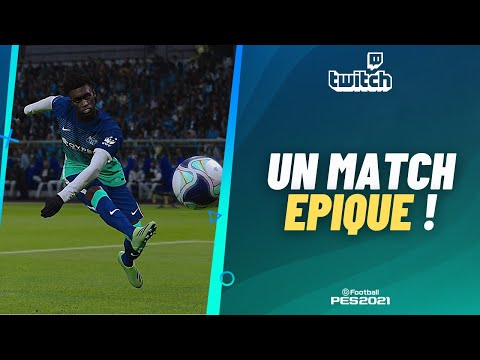 PES 2021 : Un match E-P-I-Q-U-E ! (avec un but d'anthologie)
