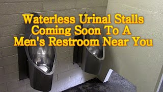 Waterless Urinal Stalls Coming To A Mens Restroom Near You